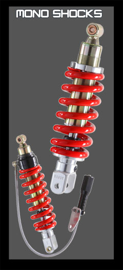 Hagon Shocks Limited - Twin shocks, Mono shocks, Fork